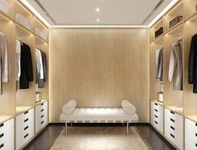 Birbirinden Farklı Giyinme Odaları