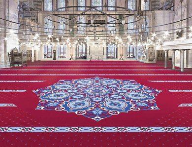 Yün Cami Halısında Renkler Ve Desenin Uyumu